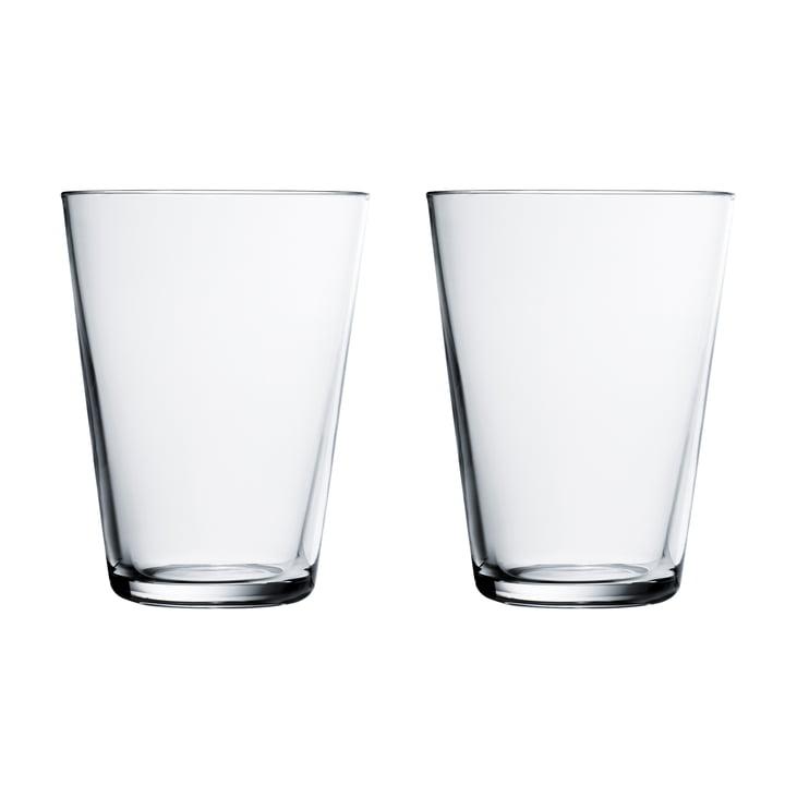 Iittala-Kartio-Trinkglas-40-cl-klar-2er-Set