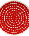 Räsymatto plate red