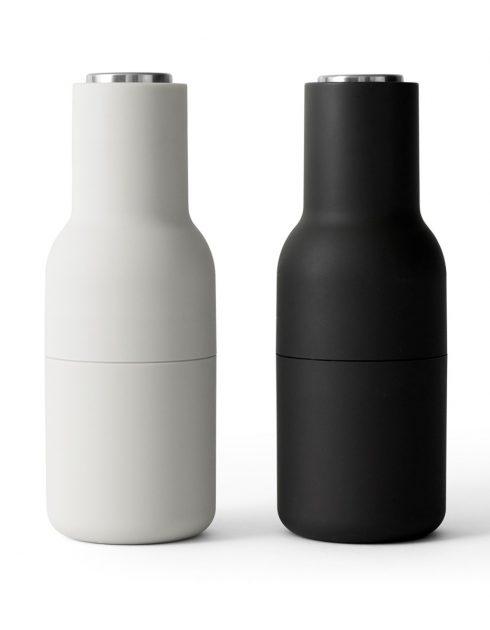 Bottle Grinder Ash Carbone Steel