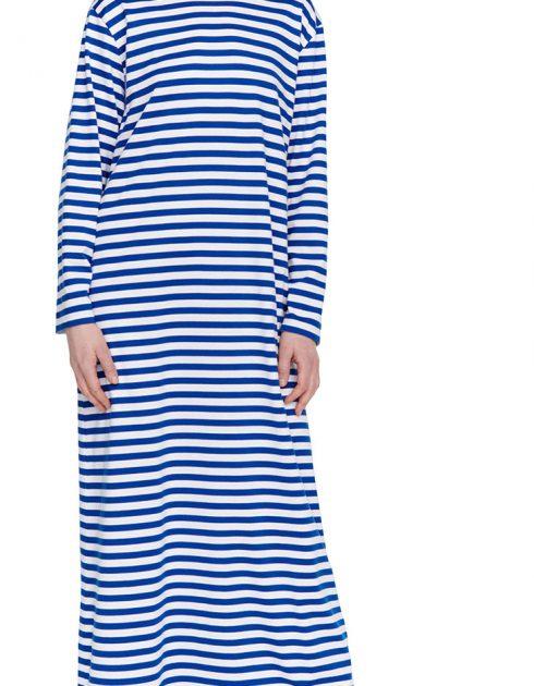 Katju Nachthemd blau weiss